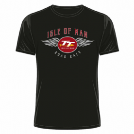 OFFICIAL TT MERCHANDISE 20ATS14 - TT Black T-Shirt